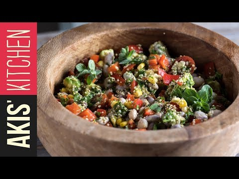 Vegan superfood salad | Akis Kitchen