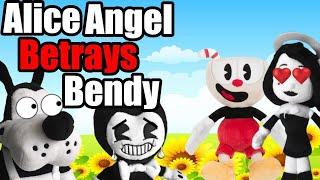 BATIM Plush - Alice Angel Betrays Bendy