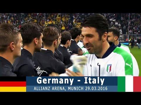 Германия - Италия 4:1 (товарищеский) 29.03.16 Обзор матча
