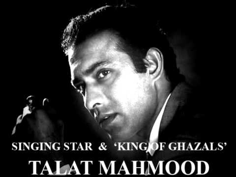 TALAT MAHMOOD - Chal udja re panchi BHAABI (version recording...