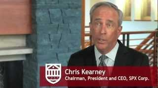 Strategic Capitalism: An interview with SPX Corp. President & CEO Chris Kearney
