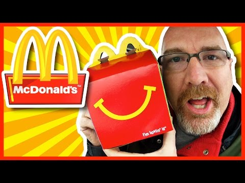 ♥ 5 Happy Meals Challenge ♥ McDonald's ♥ 2570 Calories, 3810 Sodium