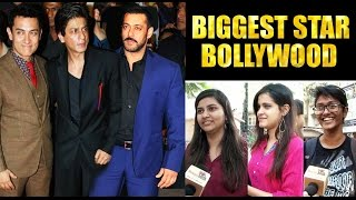 Fans Reaction Bollywood BIGGEST SUPERSTAR - Salman Khan, Shahrukh Khan , Aamir Khan