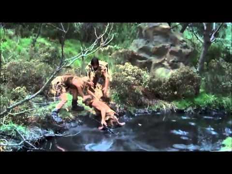 Caveman.  1981.  Tar pit scene.