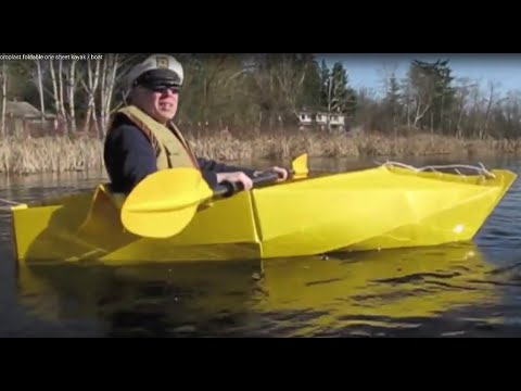 Coroplast foldable one sheet kayak / boat