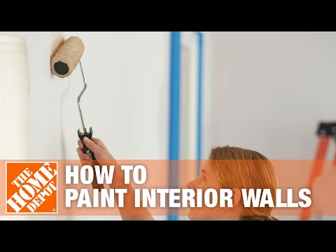painting an interior wall the 39 best 39 roller cover to use how to. Black Bedroom Furniture Sets. Home Design Ideas