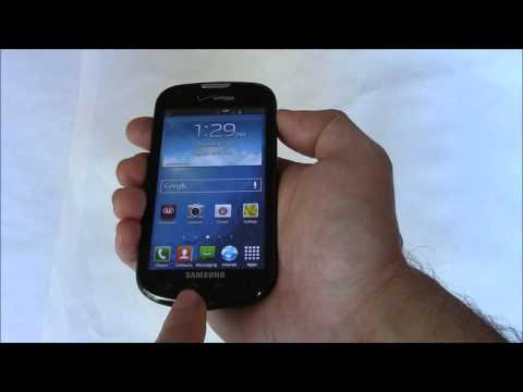 How To Take A Screen Shot On A Samsung Galaxy Stellar SCH-1200 Smartphone