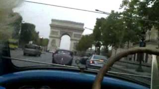 Bugatti Type 40 at Champs Elysees.mp4