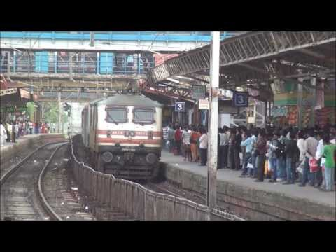 3 Crack Rajdhani Express Honouring Dadar Railway Station, Mumbai - Indian Railways