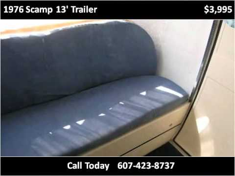 1976 Scamp 13' Trailer Used Cars Cortland NY