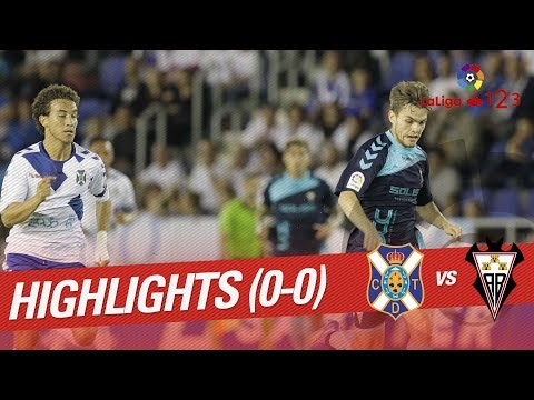 Resumen de CD Tenerife vs Albacete BP (0-0)