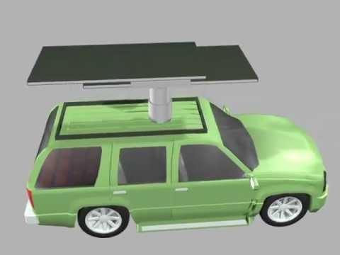 Solar Car Animation
