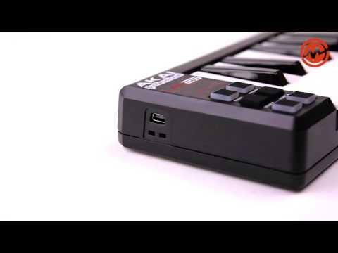 Обзор контроллера AKAI PRO LPK25