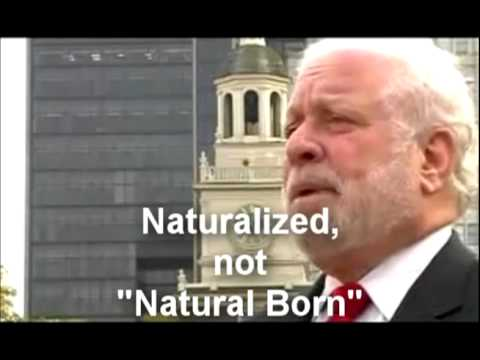 Not Natural Born -- TRUTH MATTERS