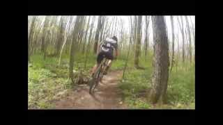 Michigan Mountain Bike Racing - 2013 Fort Custer Stampede Expert 30-39