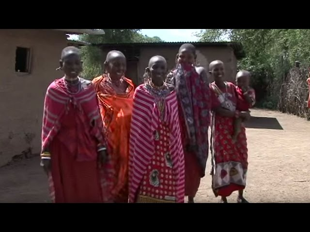 Maasai Women Singing in Kitengela, Kenya