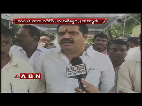MP Avanthi Srinivas and BJP leader Purandeswari Pay Homage to MVVS Murthy   Last Rites