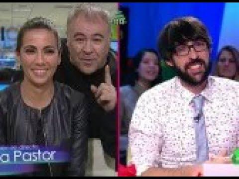 Ana Pastor sufre un escrache de Antonio García Ferreras durante la entrevista en Zapeando
