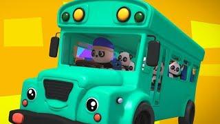 bánh xe trên xe buýt | bài hát giáo dục | thơ thiếu nhi | Kids Song | The Wheels On The Bus