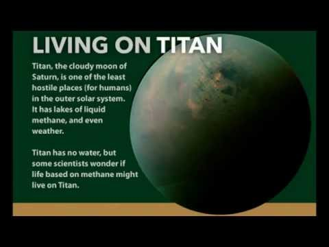 How Humans Could Live On Saturn's Moon Titan