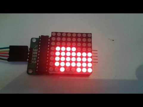 MAX7219 Dot LED Matrix Module 8x8 - Gravitechthai