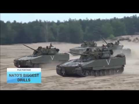 NATO Biggest Drills: Reaction to Russia increased military activity in Ukraine, Syria