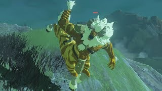 What Happens if you Find a Gold Lynel in Normal Mode? Zelda Breath of the Wild