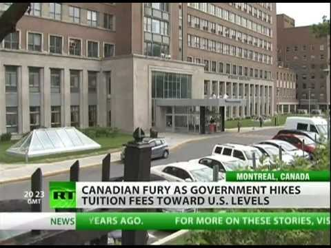 Canadians protest US-like capitalism