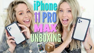 iPhone 11 Pro Max Silver Unboxing