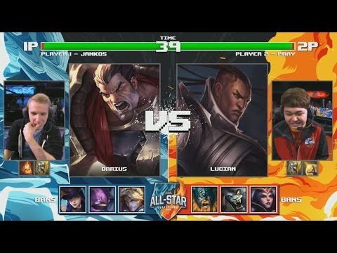 Jankos Darius VS Pray Lucian Highlights - 2016 All-Star Day 2