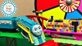 Thomas the Train World's Strongest Engine Mystery Wheel