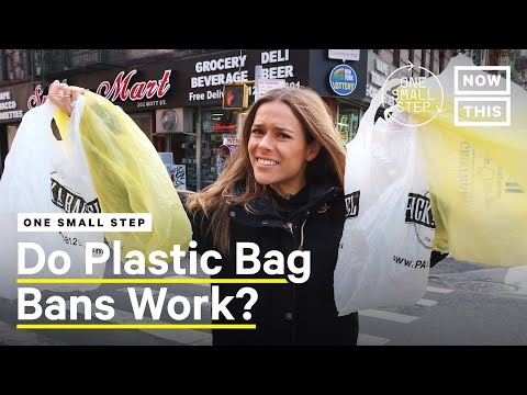 New York Bans Single-Use Plastic Bags, Here's What You Need to Know | One Small Step | NowThis