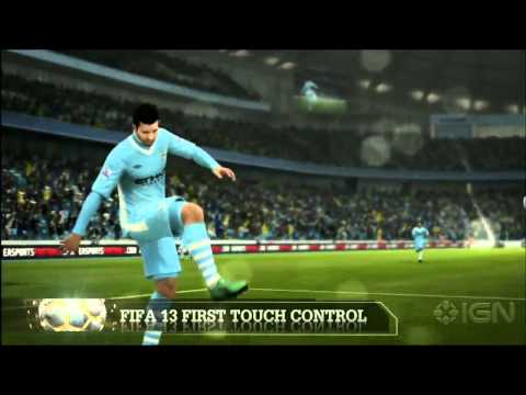 FIFA 13 Gameplay Trailer - EA 2012 Microsoft Press Conference