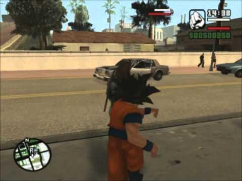 Goku Vs Mario Bros En Gta San Andreas Parte 1 video