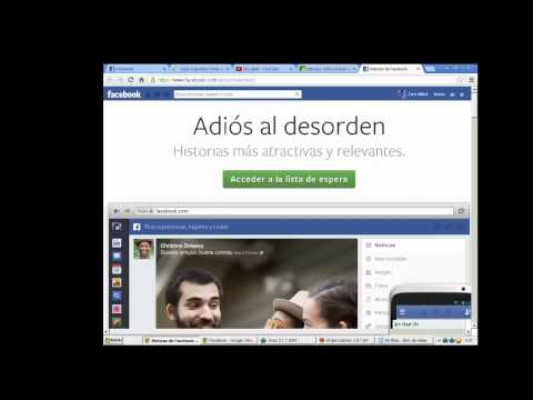 como activar nueva version de facebook 2013