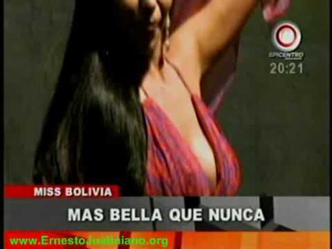 Dominique Peltier mostró el vestuario que llevará al Miss Universo VIVA BOLIVIA UNIDA CARAJO!!