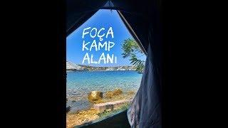 FOÇA'da Kamp Alanı | Scooterla Kamp