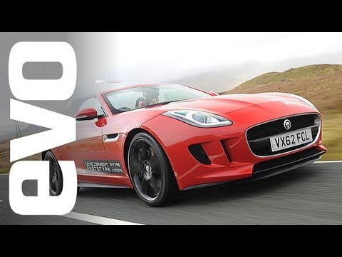Jaguar F-Type. Riding in the V6 and V8 S- evo diary