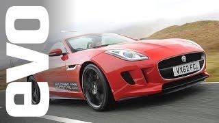 Jaguar F-type: Riding in the V6 and V8 S | evo DIARIES