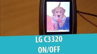 LG C3320 Shutdown and Startup