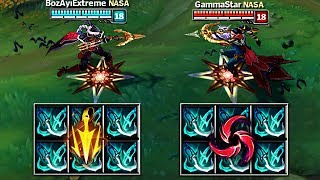 WHICH RUNE IS BETTER?! SAME BUILD LETHAL TEMPO vs HAIL OF BLADES