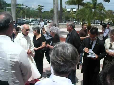 Funeral Mass for retired Auxiliary Bishop Agustin Roman pt.1