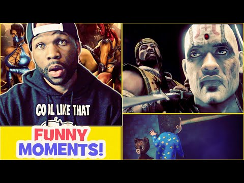Funny Moments! Mortal Kombat X and More - R.I.P Rich Homie Quan Chi
