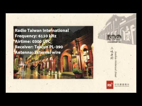 Radio Taiwan International on Tecsun PL-390