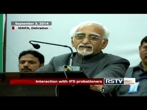 Shri M Hamid Ansari's address at the inauguration of the 89th Foundation Course at LBSNAA, Mussoorie