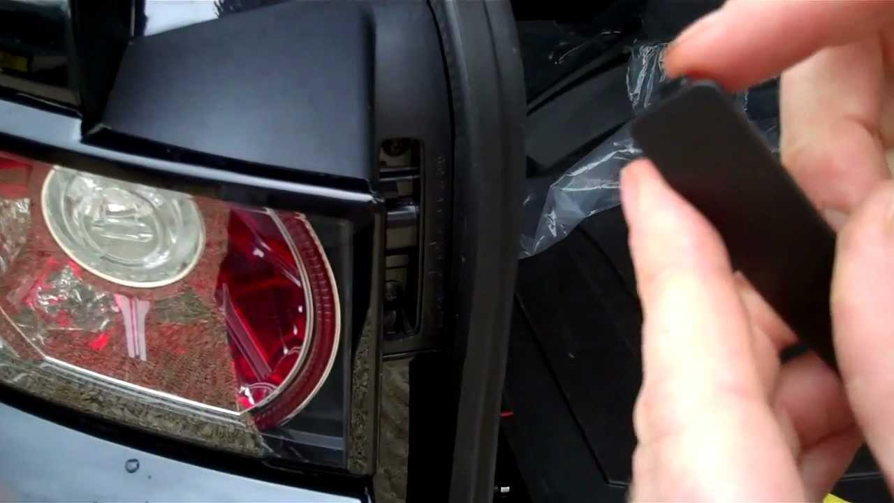 freelander brake light wiring diagram how to remove rear lights change bulbs on range rover  how to remove rear lights change bulbs on range rover
