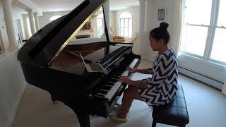 """Lina Nering Playing """"River Flows in You"""" by Yiruma on Piano"""