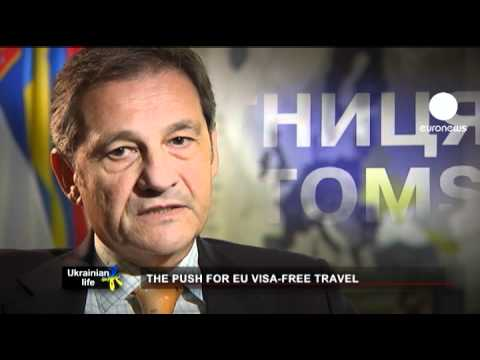 Ukraine's push for EU visa-free travel