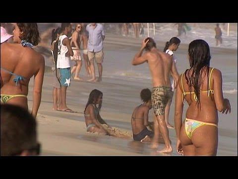 Beach life in Brazil