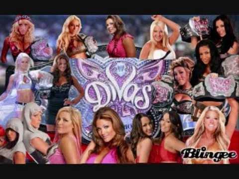 Wwe Divas Champion 2008-2013